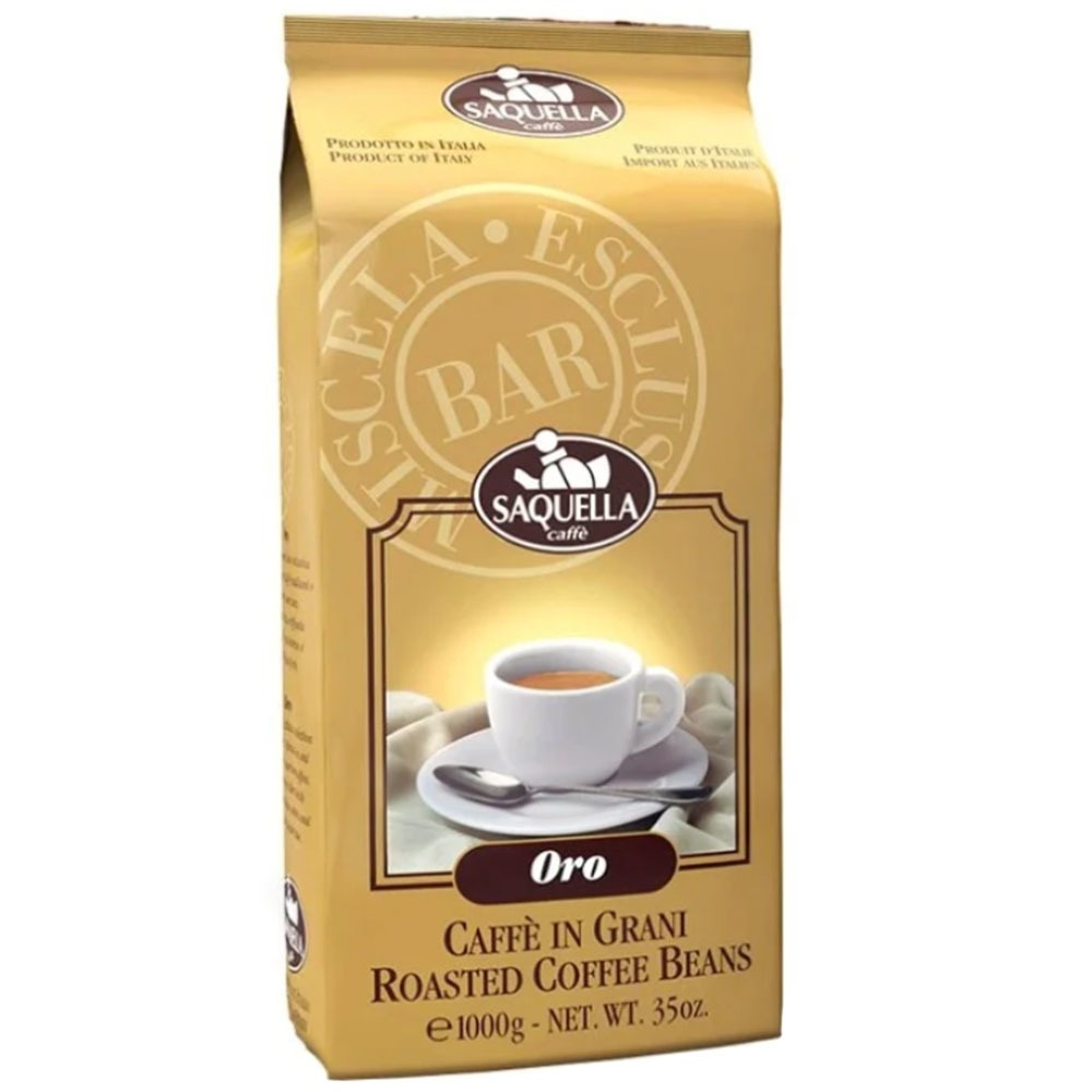 Кофе в зернах Saquella Oro - фото 1