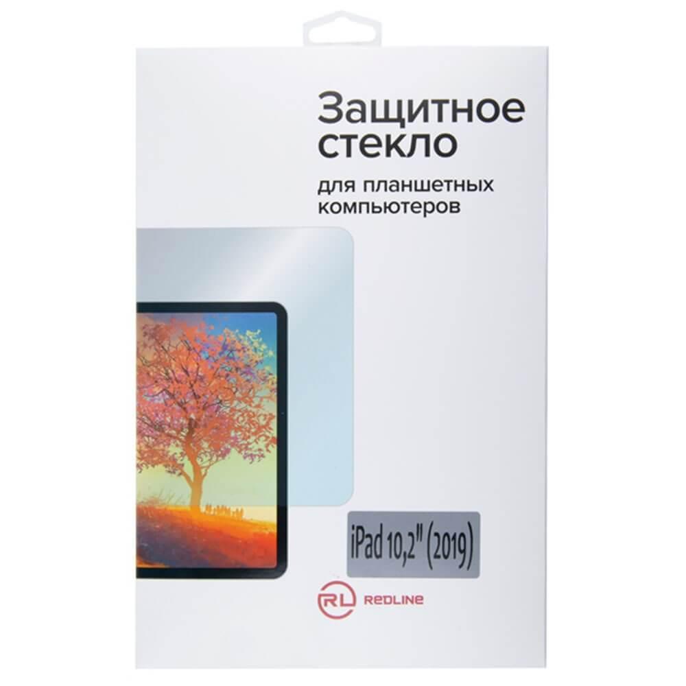 Защитное стекло Red Line для Apple iPad 10.2 (2019) tempered glass - фото 1