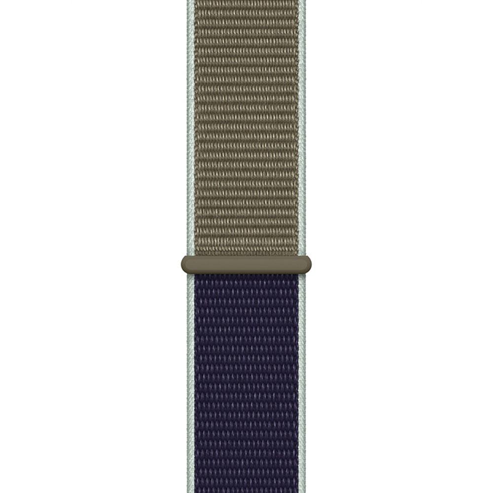 Ремешок для умных часов Apple Watch 44 мм, лесной хаки (MWU12ZM/A) - фото 1