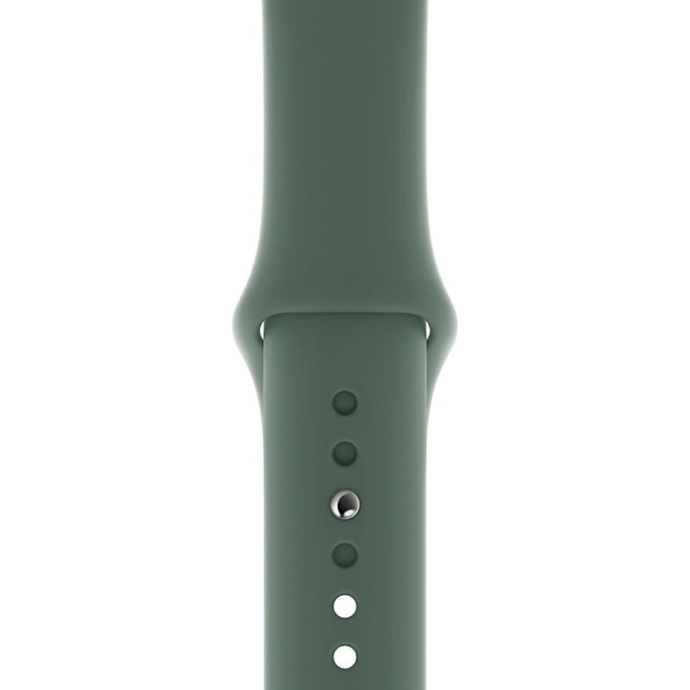 Ремешок для умных часов Apple Watch 44 мм, сосновый лес (MWUV2ZM/A) - фото 1