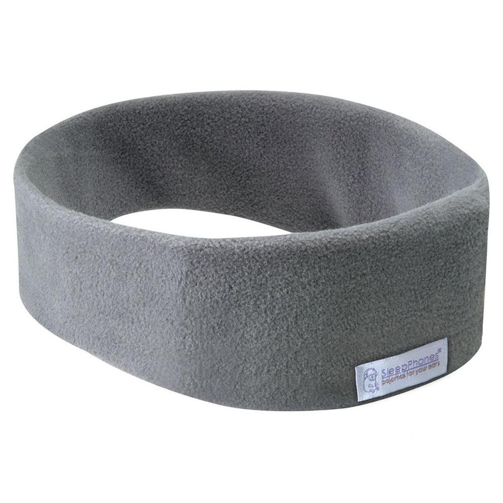 Наушники для сна SleepPhones Wireless Fleece (SB6GM-US), серый - фото 1