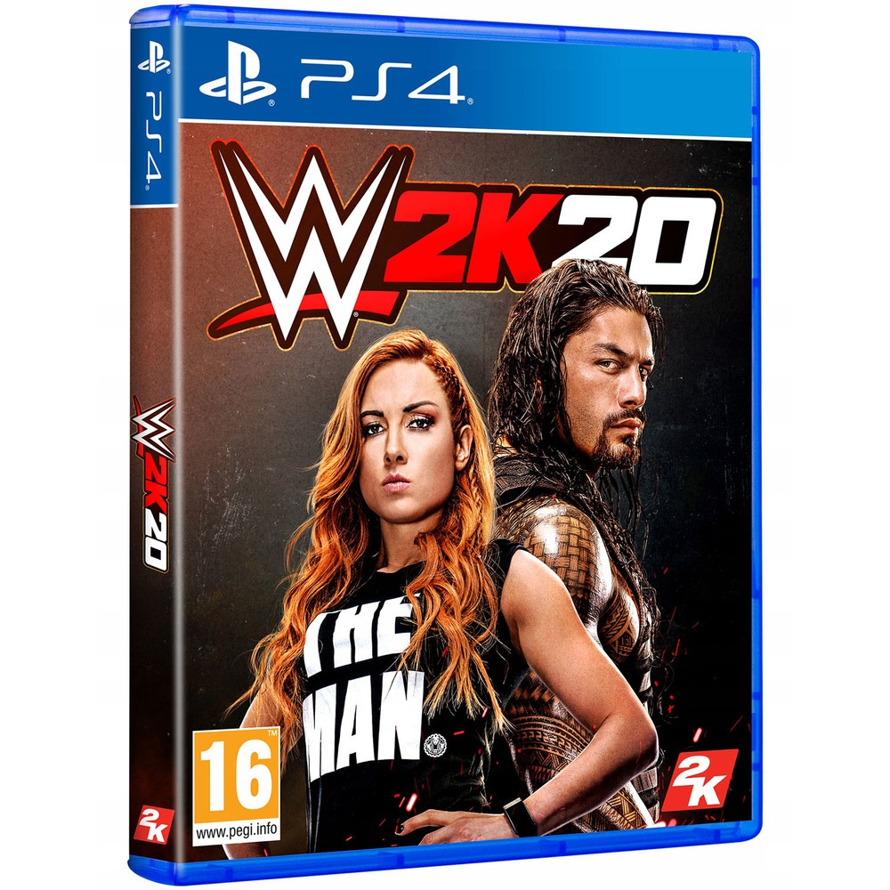 WWE 2K20 PS4, английская версия - фото 1