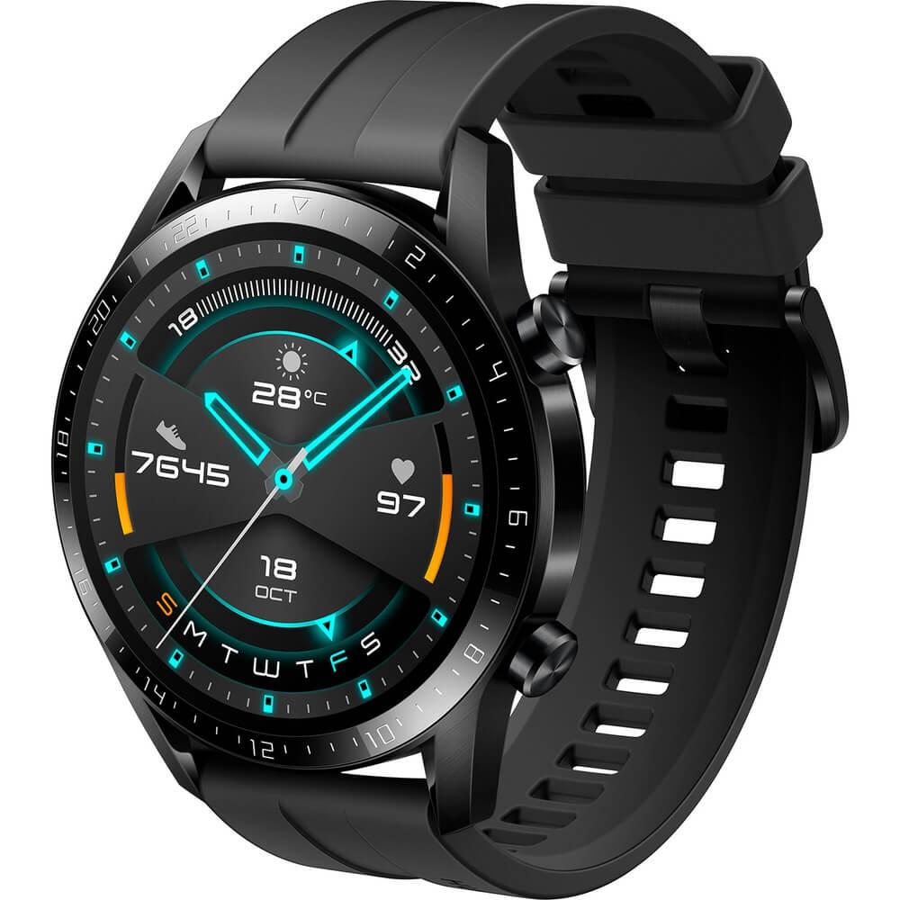 Смарт-часы Huawei Watch GT 2 Matte Black (LTN-B19) - фото 1