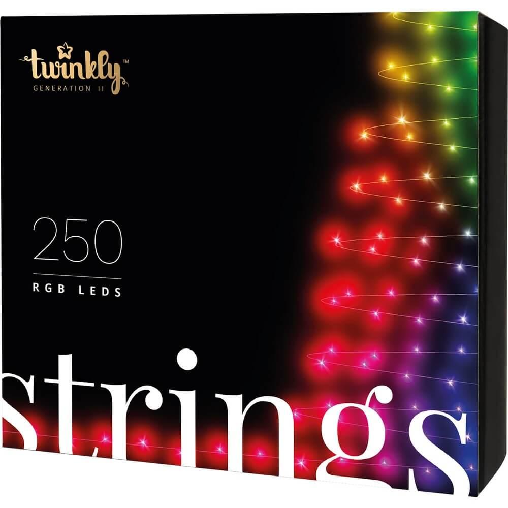 Умная гирлянда Twinkly Strings RGB 250 (TWS-250STP) - фото 1