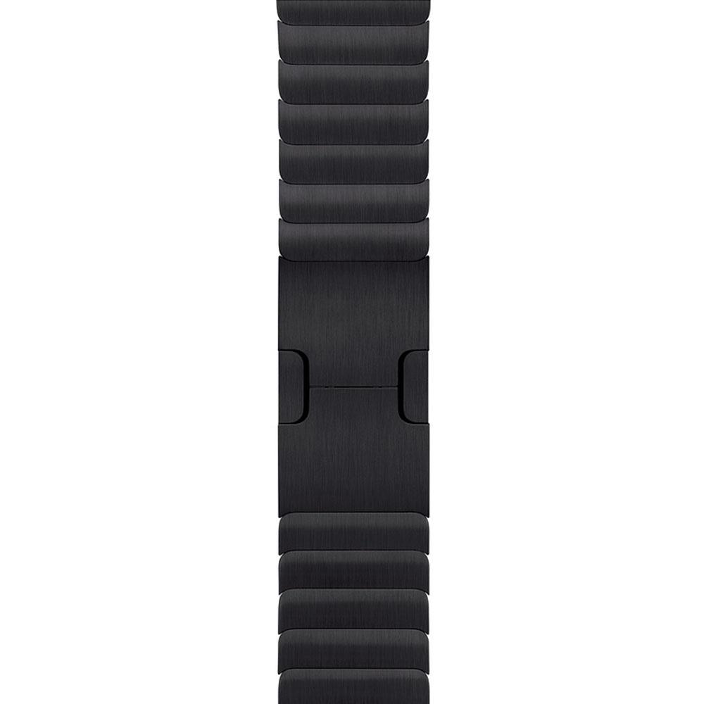 Ремешок для умных часов Apple Watch Link Bracelet 42 мм, черный космос (MUHM2ZM/A) - фото 1