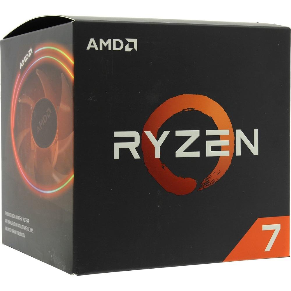 Процессор AMD Ryzen X8 R7-2700X (YD270XBGAFBOX) - фото 1