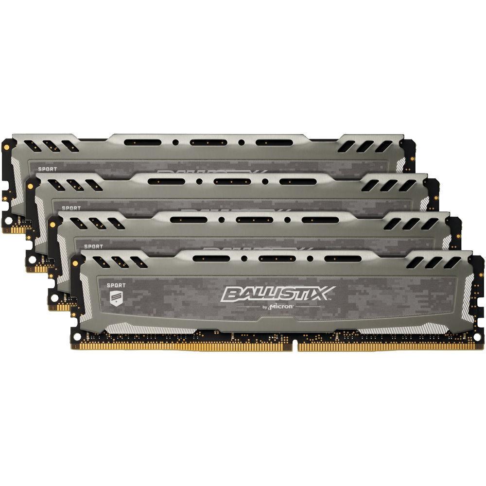Оперативная память Crucial 32GB PC19200 DDR4 KIT4 BLS4K8G4D240FSBK - фото 1