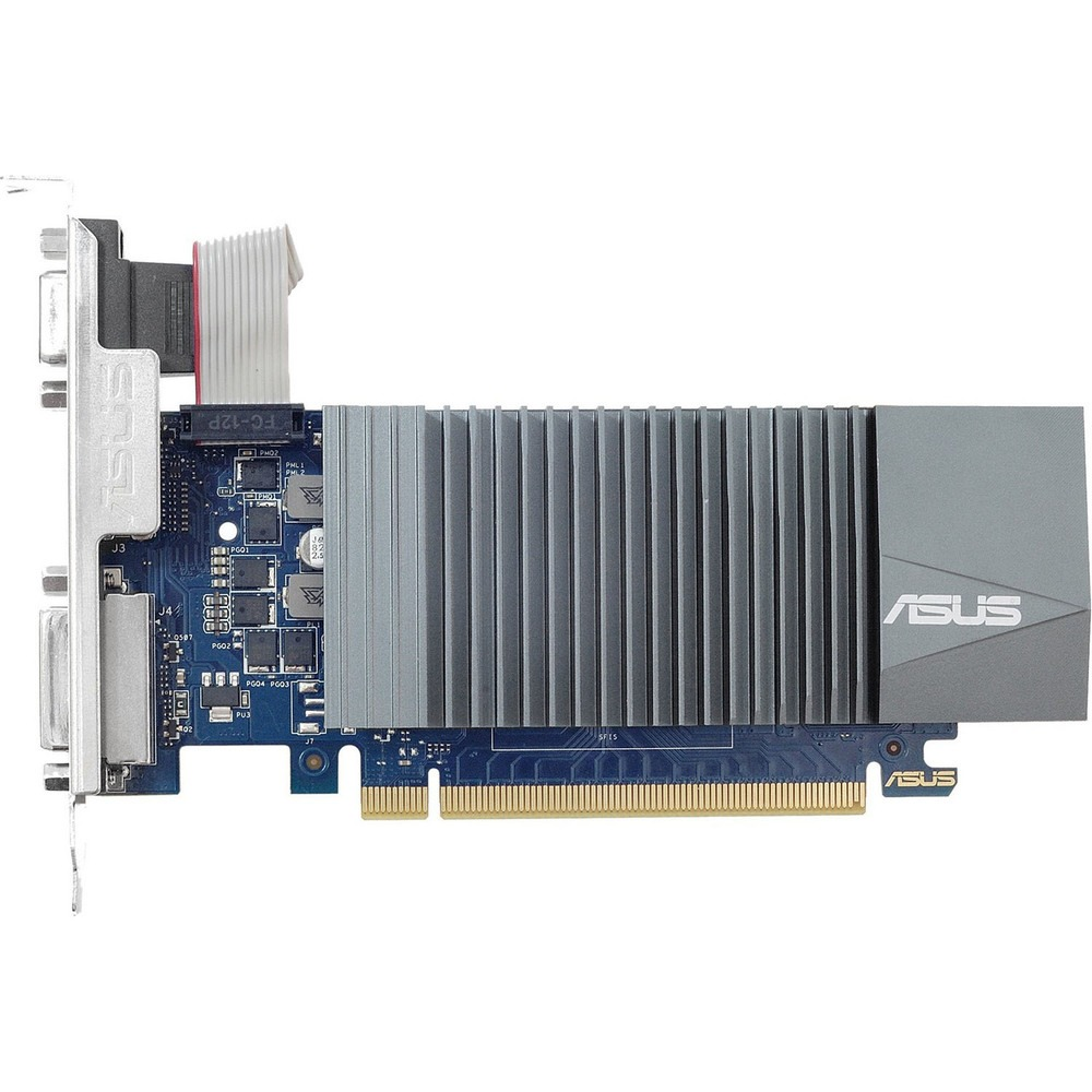 Видеокарта ASUS GT710 1GB (GT710-SL-1GD5-BRK) - фото 1