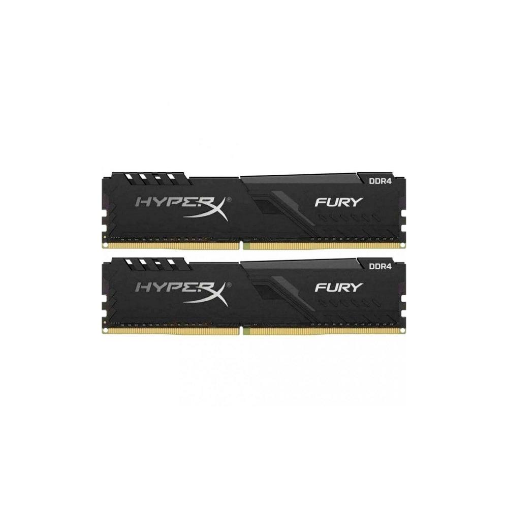 Оперативная память Kingston 16GB PC25600 DDR4 KIT2 (HX432C16FB3K2/16) - фото 1