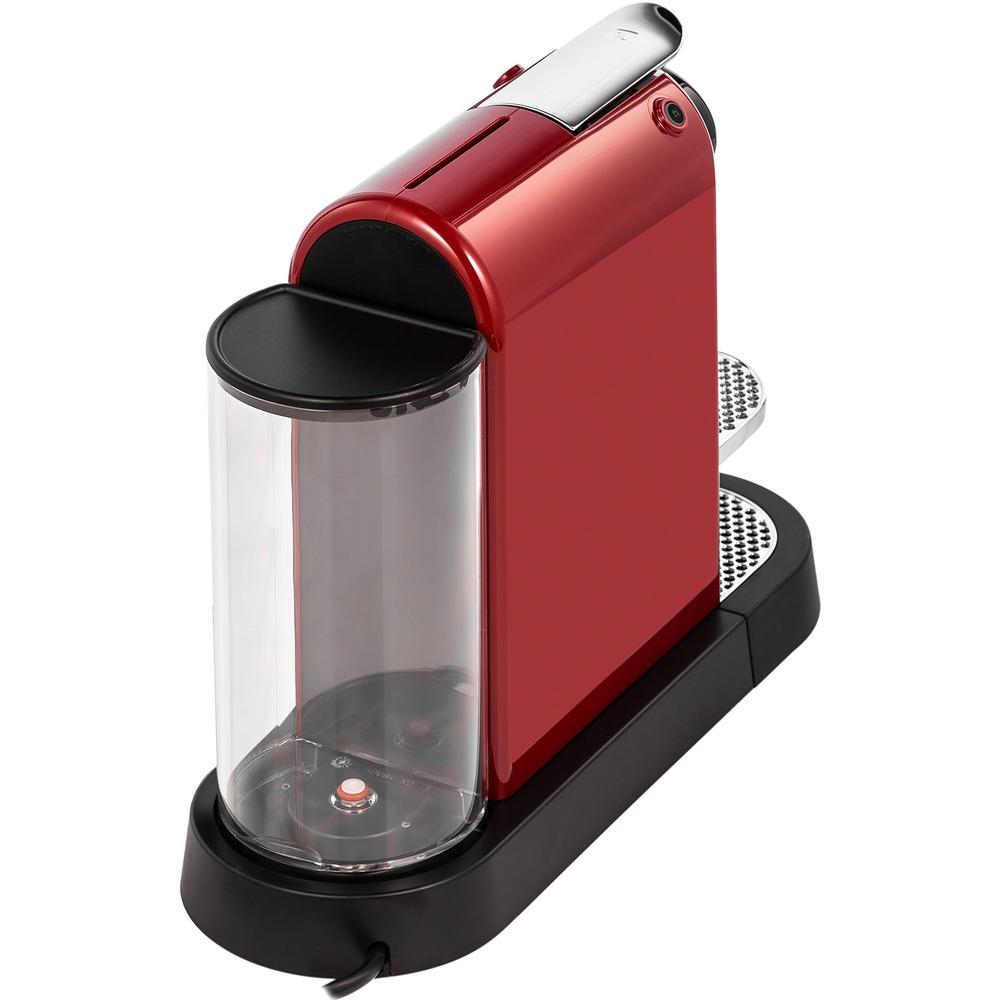 Капсульная кофемашина Nespresso Citiz C113 Cherry Red - фото 2