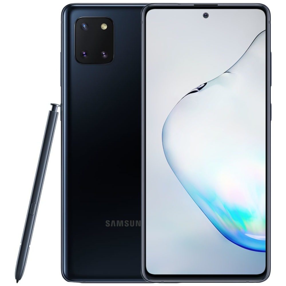Смартфон Samsung Galaxy Note10 Lite черный - фото 1