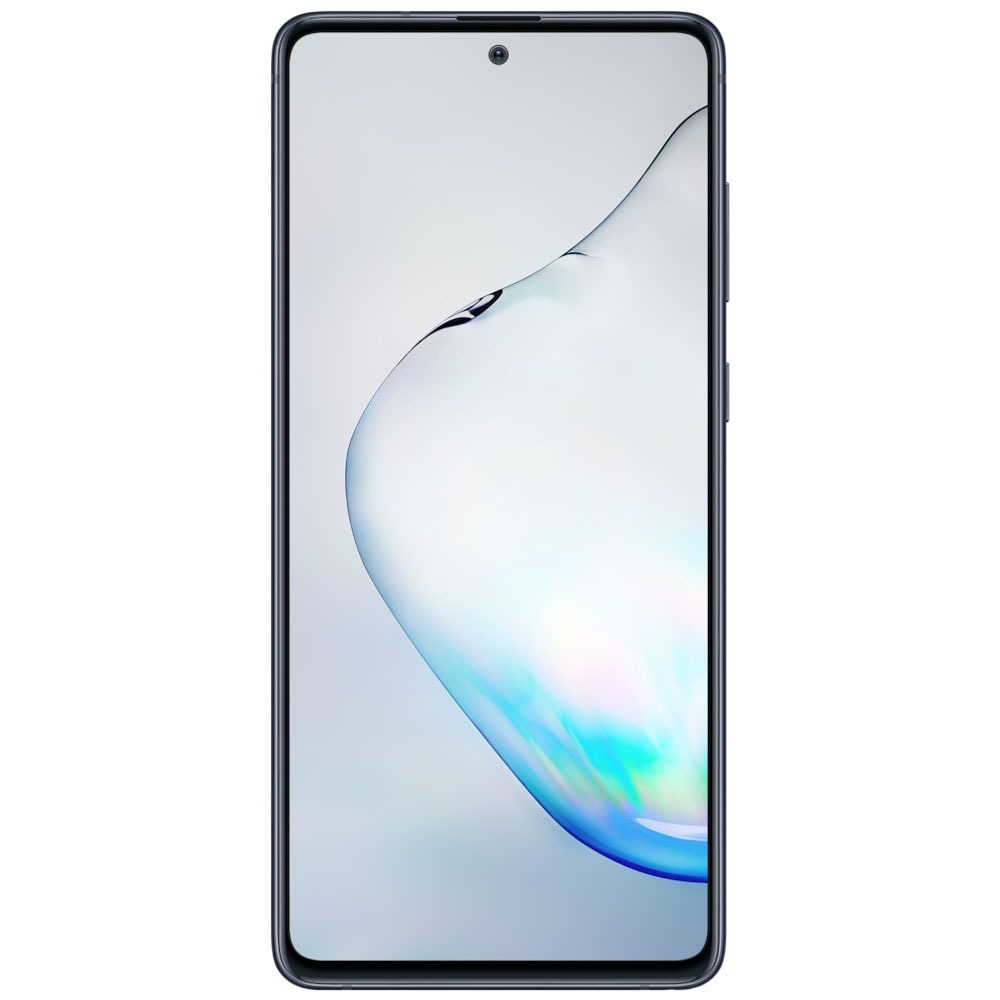 Смартфон Samsung Galaxy Note10 Lite черный - фото 2