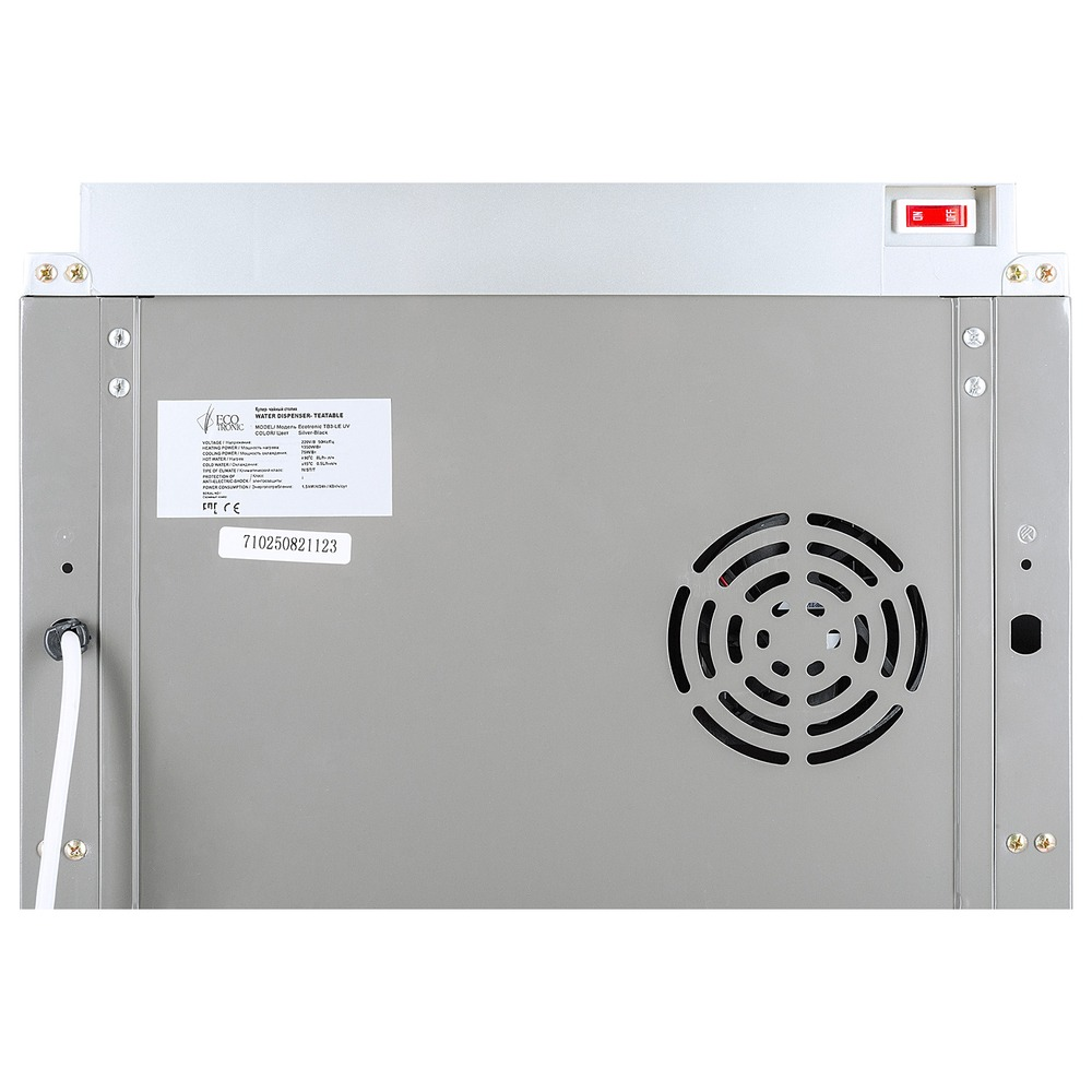 Кулер для воды Ecotronic TB3-LE UV (11276) черный/серебристый - фото 11