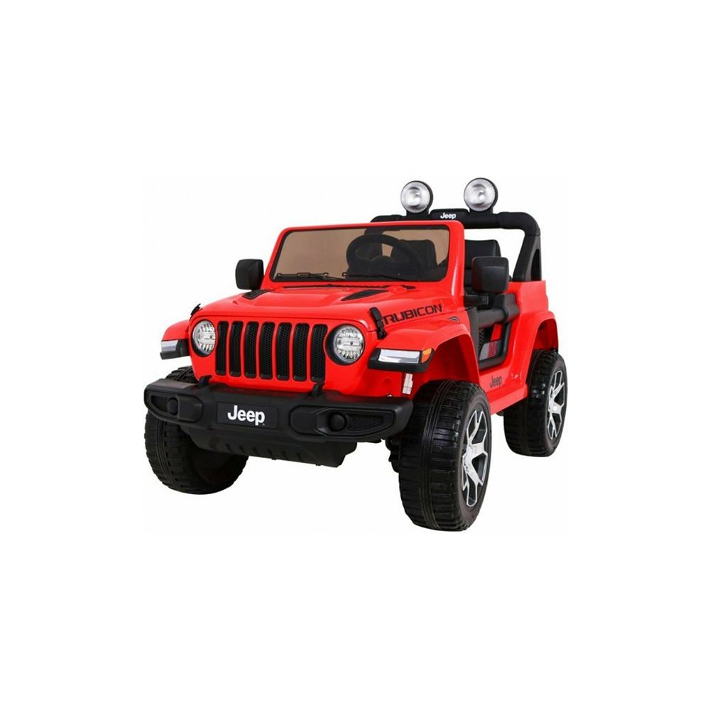 Детский электромобиль Toyland Jeep Rubicon DK-JWR555 красный - фото 1