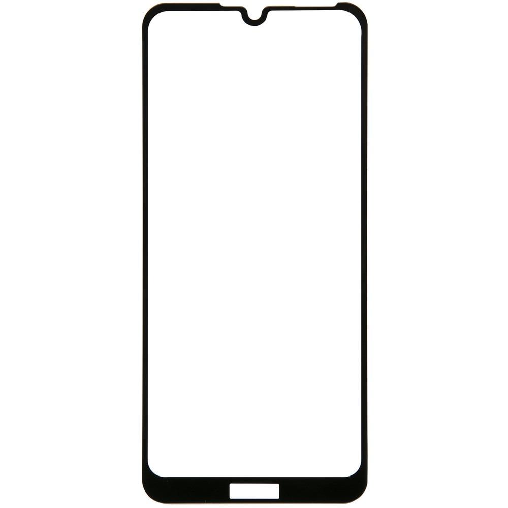 Защитное стекло Red Line Huawei Honor 8A/8A Pro/Y6s 2019 Full Screen tempered glass FULL GLUE, чёрный - фото 1