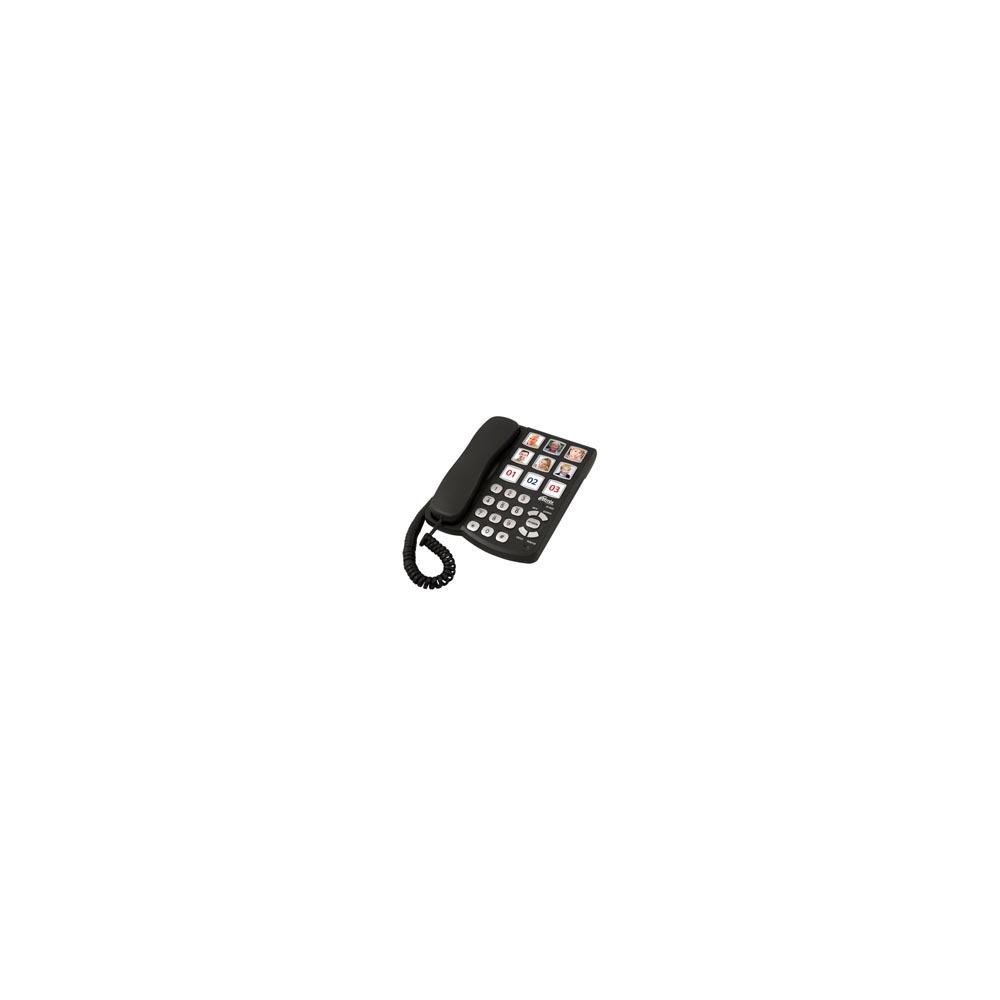 Проводной телефон Ritmix RT-500 black - фото 1