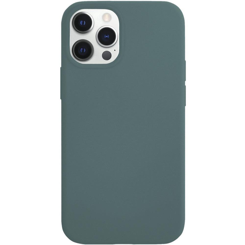 Чехол для смартфона VLP Silicone Сase для iPhone 12/12 Pro, тёмно-зелёный - фото 1
