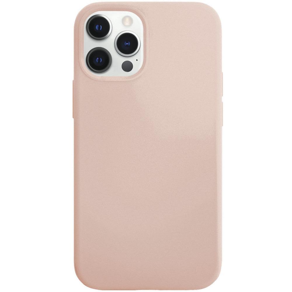 Чехол для смартфона VLP Silicone Сase для iPhone 12/12 Pro, светло-розовый - фото 1