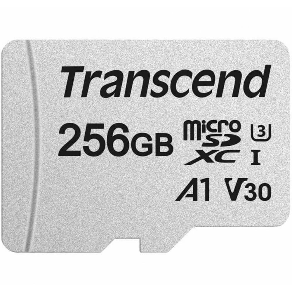 Карта памяти Transcend microSDXC 300S 256GB (TS256GUSD300S-A) - фото 1
