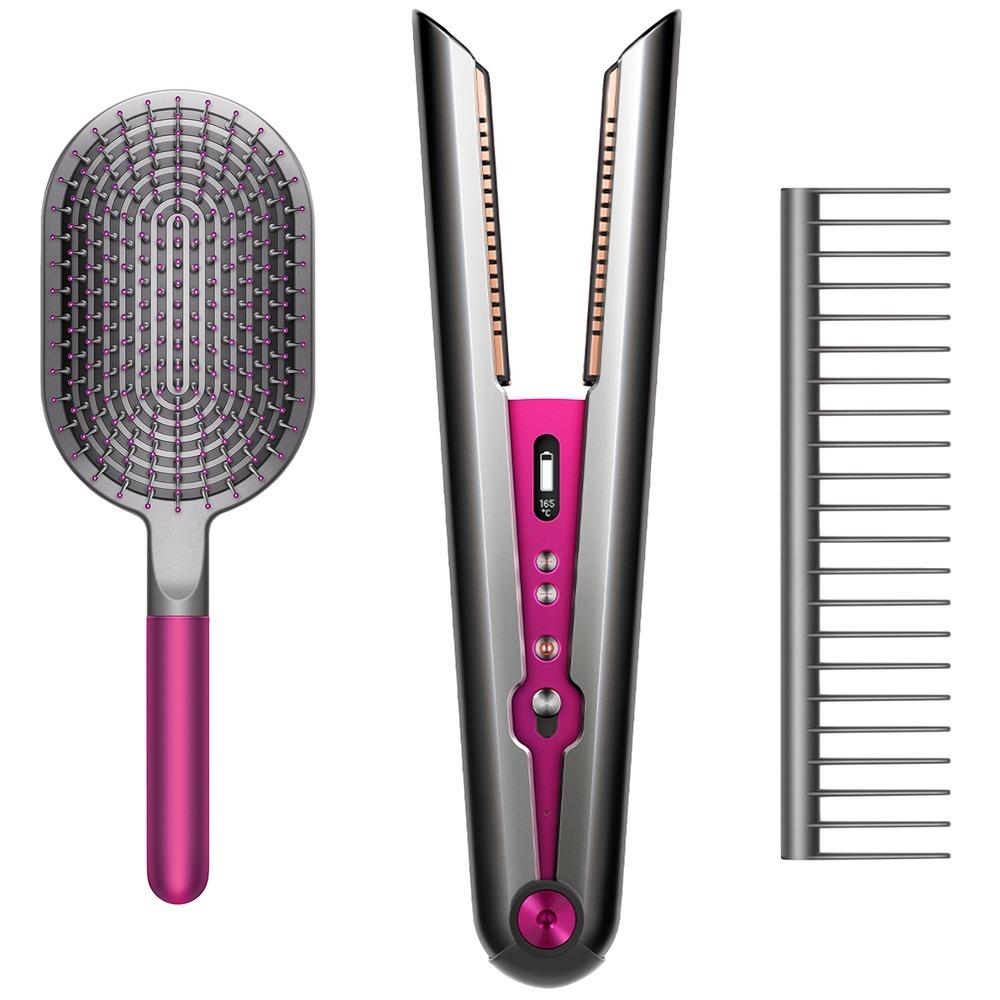 Выпрямитель для волос Dyson HS03 Corrale фуксия с набором расчесок - фото 1