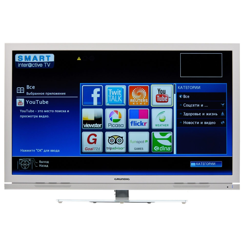 Телевизор Grundig 40VLE7230 WR - фото 1