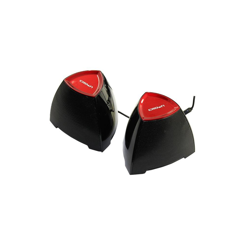 Колонки Crown CMS-278 black/red - фото 1