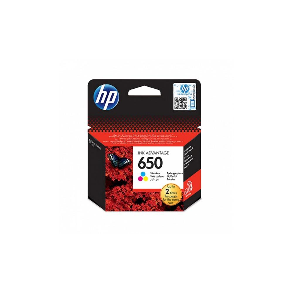 Картридж HP N650 трёхцветный (CZ102AE) - фото 1