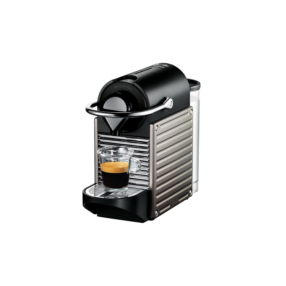 Капсульная кофемашина Nespresso Krups XN 3005 Pixie Titan - фото 1