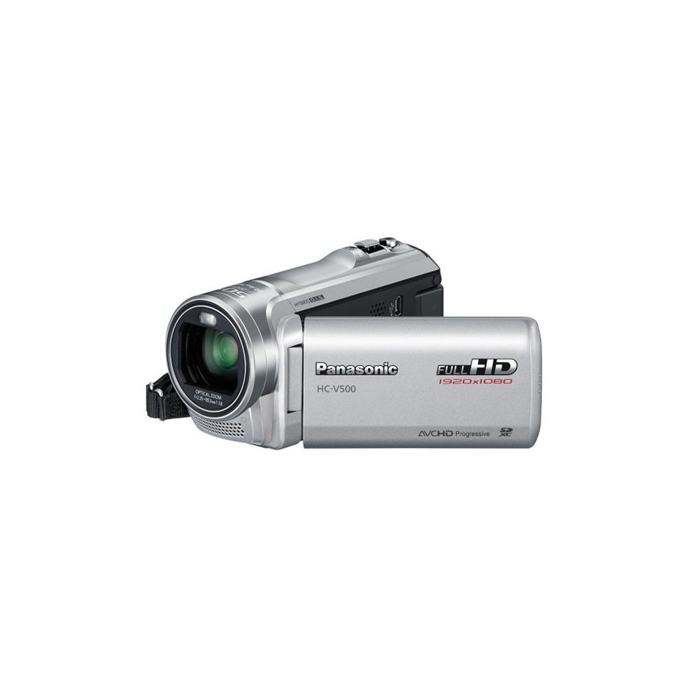 Видеокамера Panasonic HC-V500 Silver - фото 1