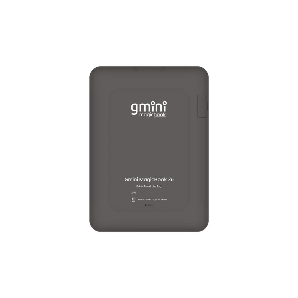 Электронная книга Gmini MagicBook Z6 Graphite - фото 2