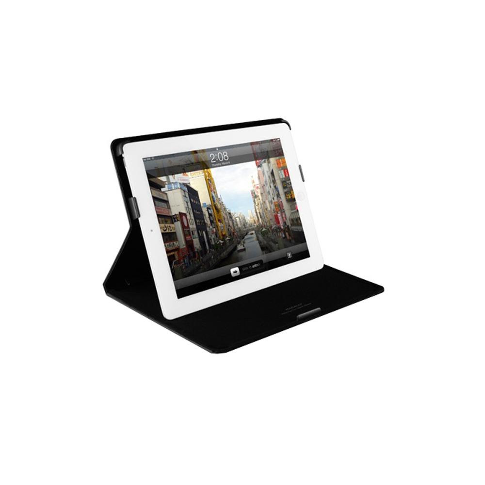 Чехол для планшета Macally SLIMCASE-3B iPad2/3 черный - фото 3