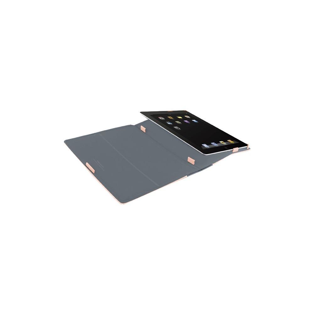 Чехол для планшета Macally SLIMCASE-3RS iPad2/3 светло-розовый - фото 2
