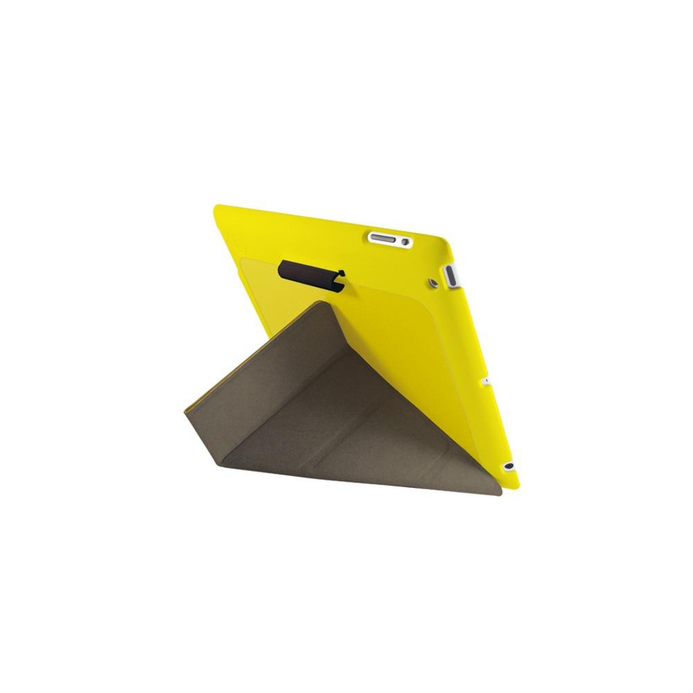Чехол для планшета Ozaki new iPad iCoat Slim Y + стилус желтый - фото 2