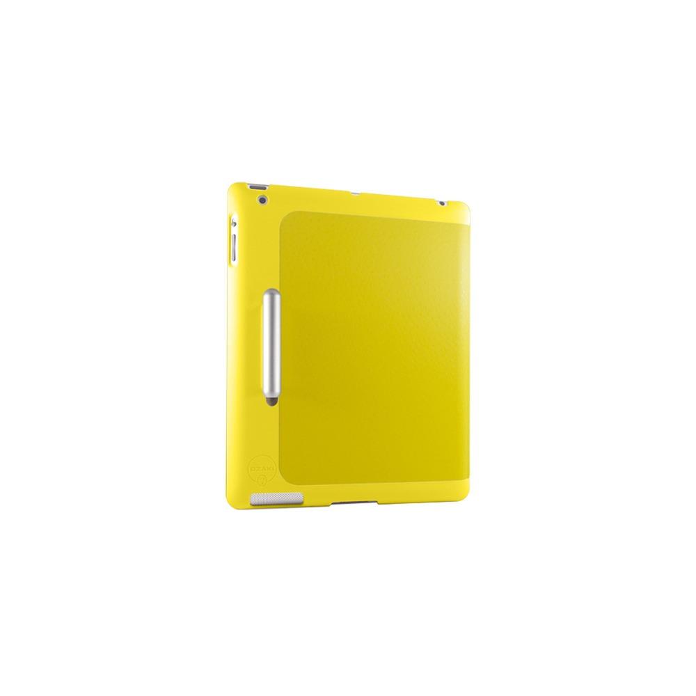 Чехол для планшета Ozaki new iPad iCoat Slim Y + стилус желтый - фото 3