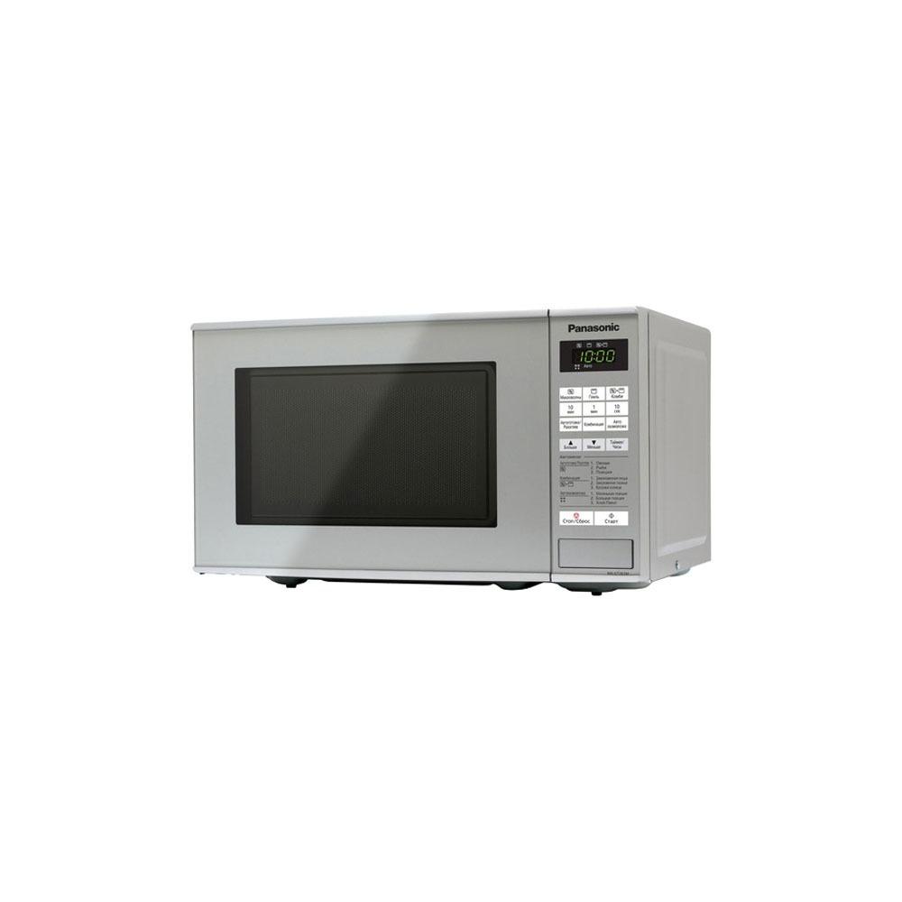 Микроволновая печь Panasonic NN-GT261MZPE серебристая - фото 1