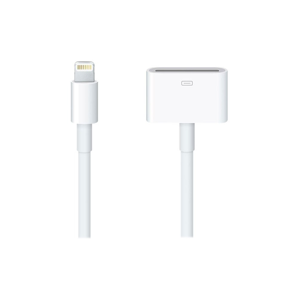 Аксессуар Apple Apple Lightning to 30-pin Adapter (0.2 m) MD824ZM/A - фото 1