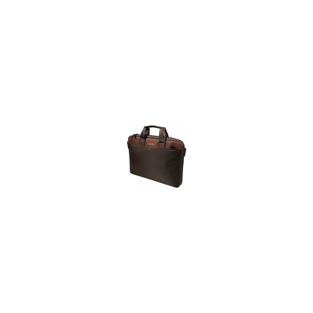 Сумка PortDesigns Lugano II 15.6 коричневый (140308) - фото 1