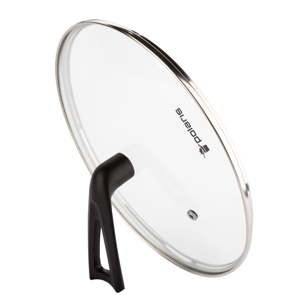Крышка для посуды Polaris стеклянная 20см - фото 1