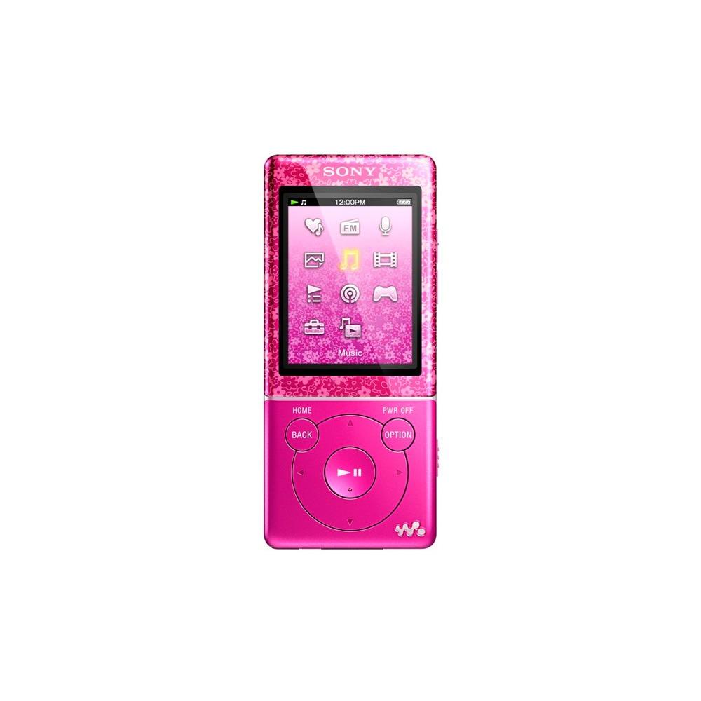 MP3-плеер Sony NWZ-E474 8Гб Pink - фото 1
