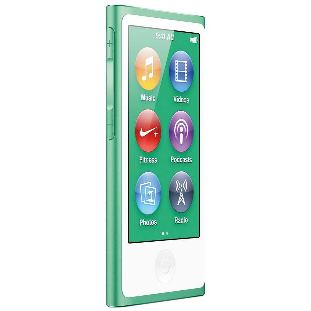 MP3-плеер Apple iPod nano 7 16Gb Green - фото 1