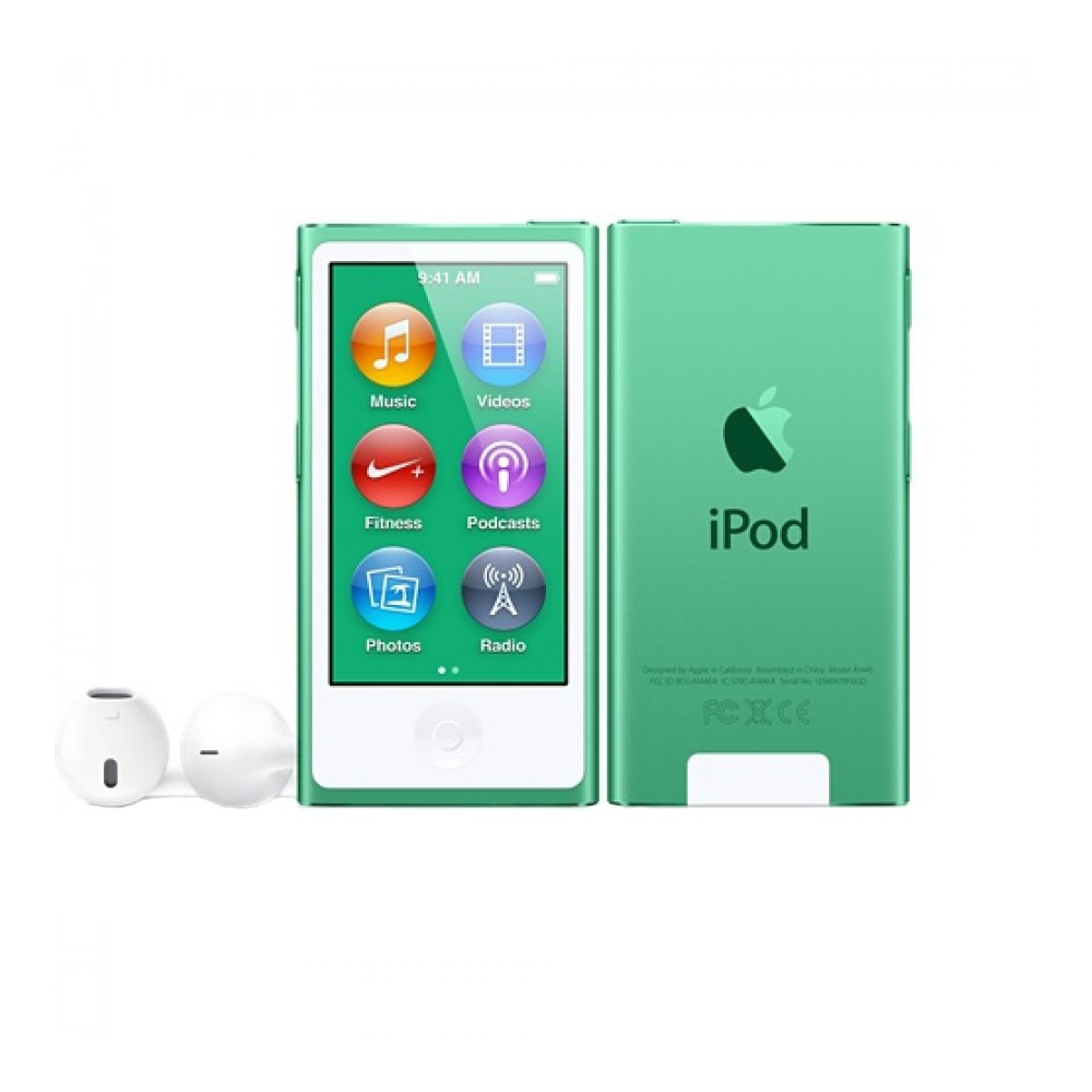 MP3-плеер Apple iPod nano 7 16Gb Green - фото 3