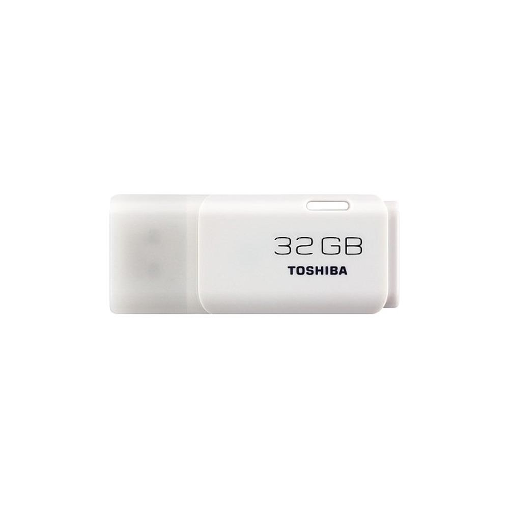 USB Flash drive Toshiba TransMemory 32GB белый - фото 1