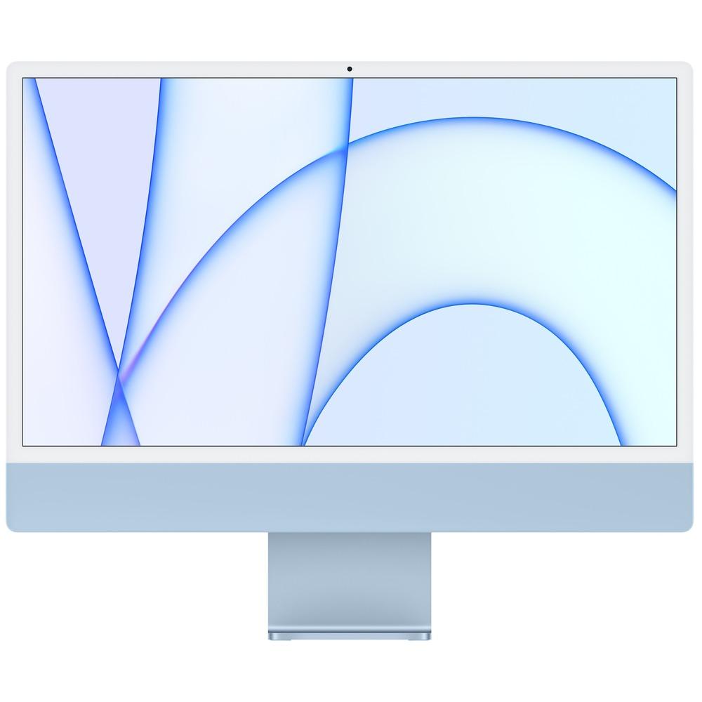 Моноблок Apple iMac 24 M1 (MGPK3RU/A) синий - фото 1