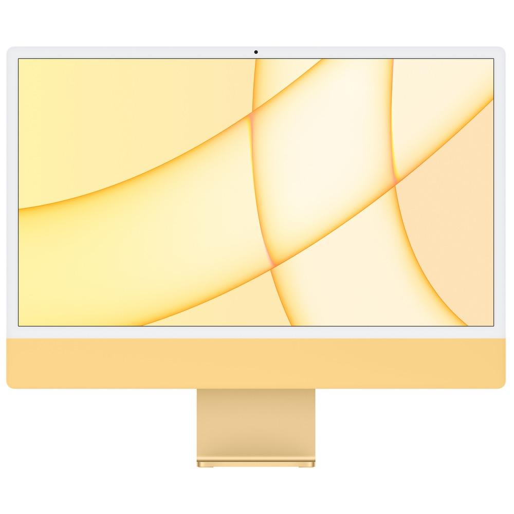 Моноблок Apple iMac 24 M1 256GB, жёлтый - фото 1