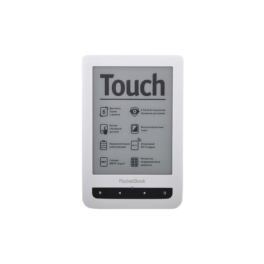 Электронная книга PocketBook 622 Touch черно-белый - фото 1