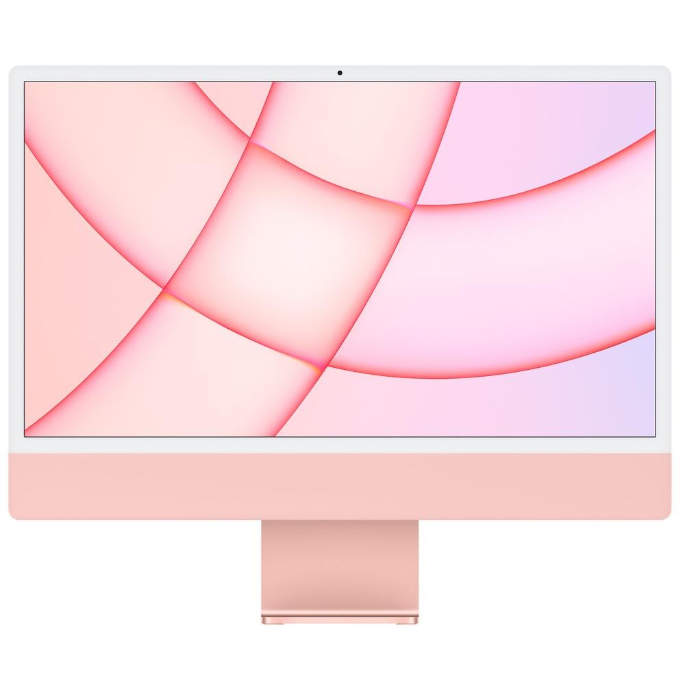 Моноблок Apple iMac 24 M1 (MGPN3RU/A) розовый - фото 1