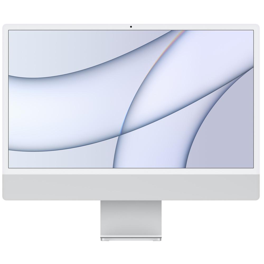 Моноблок Apple iMac 24 M1 (MGPD3RU/A) серебристый - фото 1
