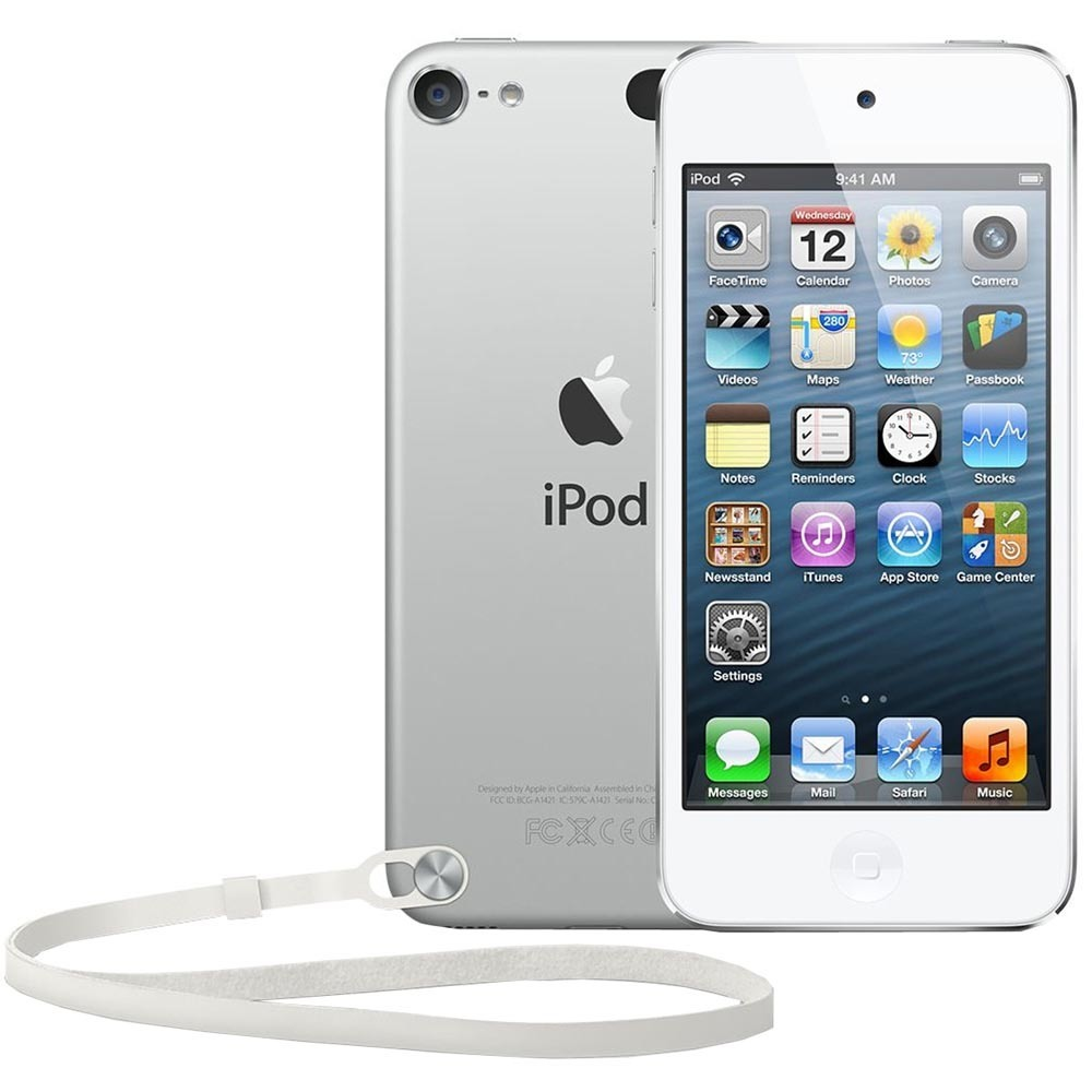 MP3-плеер Apple iPod touch 5 64GB White & Silver - фото 1