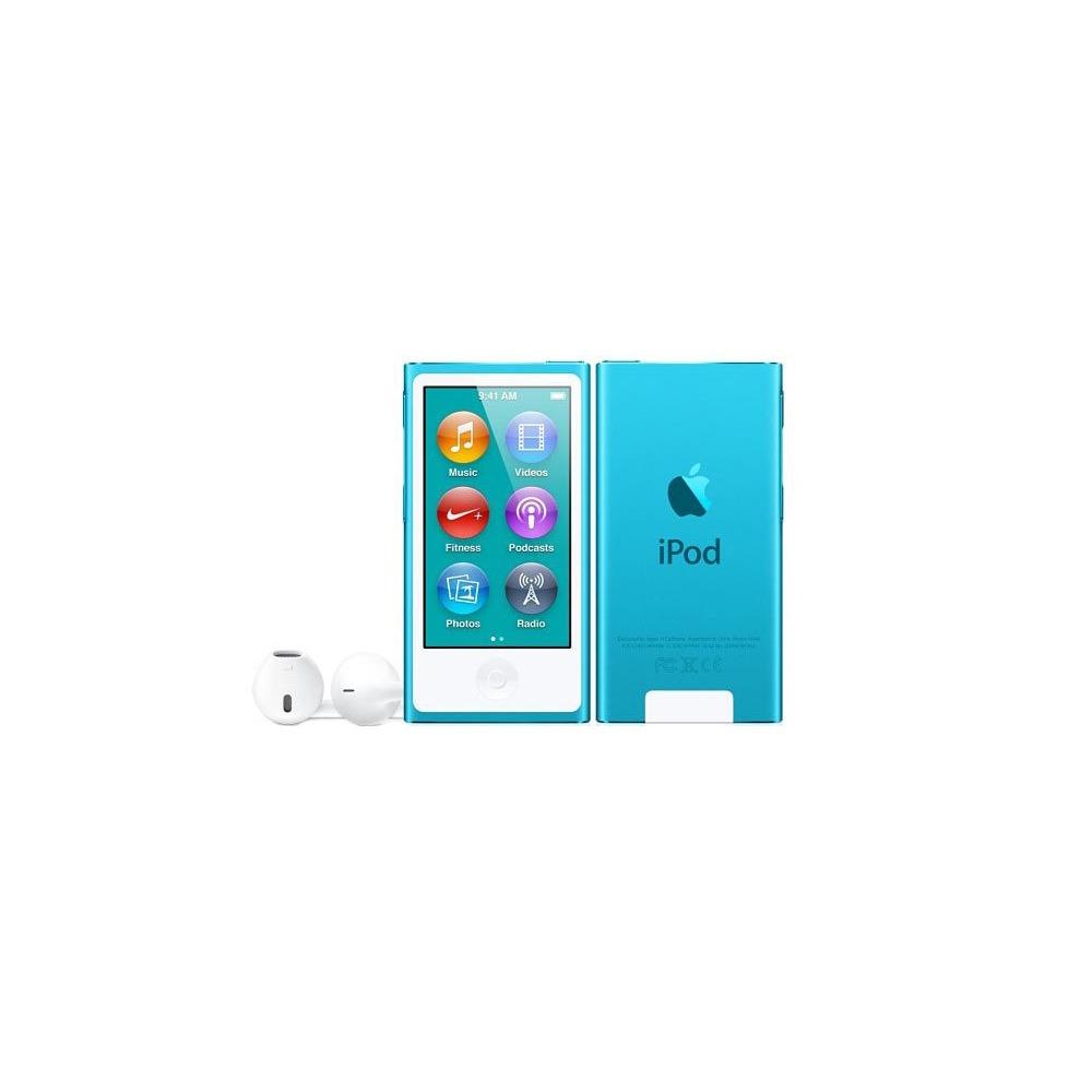MP3-плеер Apple iPod nano 7 16Gb Blue - фото 2