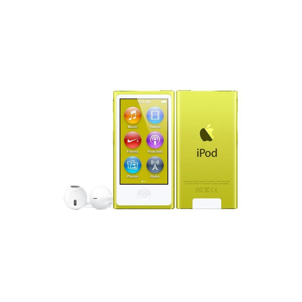MP3-плеер Apple iPod nano 7 16Gb Yellow - фото 1